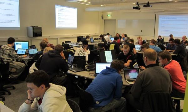 P-lab, et prisbelønt undervisningsrom vi har i lokalene våre