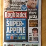Intervju i Dagbladet palmesøndag 2013