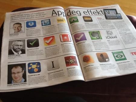 App deg effektiv, Dagbladet