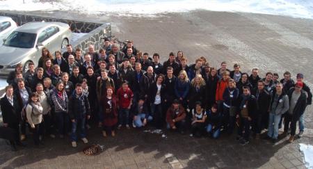 Studenter og lærere som deltok på SaSeRoS 2013